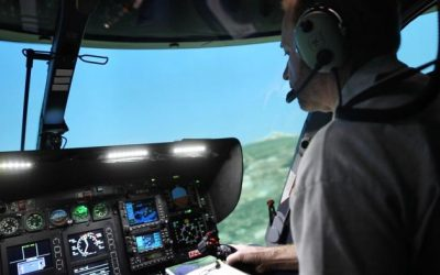 Reservations Open for North America's first EC145 Level D full motion simulator