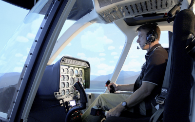 Helicopter Flight Training Center to add Frasca 407 Flight Training Device